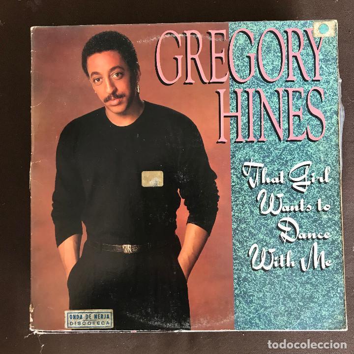 GREGORY HINES - THAT GIRL WANTS TO DANCE - 12'' MAXISINGLE EPIC USA 1988 (Música - Discos de Vinilo - Maxi Singles - Funk, Soul y Black Music)