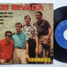 Discos de vinilo: LOS NEVADA - EP SPAIN PS - MINT * FLAMENCO SOUL Nº 5 * AÑO 1969. Lote 236404505