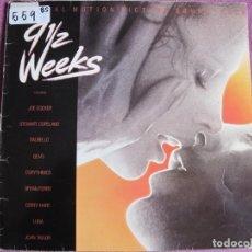 Discos de vinilo: LP - 9 SEMANAS Y MEDIO - VARIOS (SPAIN, CAPITOL RECORDS 1986). Lote 236411640