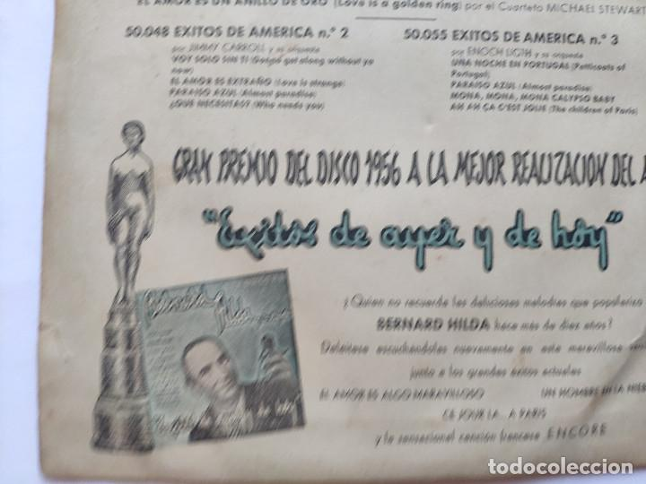 Discos de vinilo: EXITOS DE AMERICA VOL. 4 - EP Spain PS - BOB MILLER / MARK WARREN / JIMMY CARROLL / M STEWART - Foto 12 - 236412410