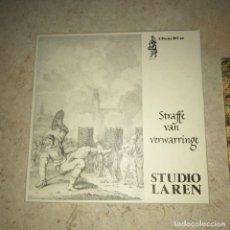 Discos de vinilo: DISCO Y LIBRO LP STRAFFE VAN VERWARRINGE STUDIO LAREN GEDENCKCLANCK MUSICA CLÁSICA. Lote 236412835