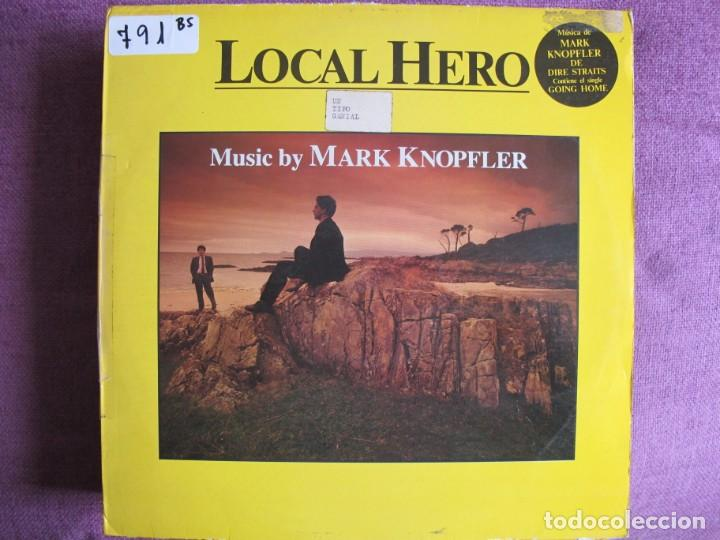 LP - LOCAL HERO - MUSIC BY MARK KNOPFLER (SPAIN, VERTIGO RECORDS 1983) (Música - Discos - LP Vinilo - Bandas Sonoras y Música de Actores )