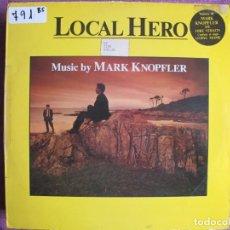 Discos de vinilo: LP - LOCAL HERO - MUSIC BY MARK KNOPFLER (SPAIN, VERTIGO RECORDS 1983). Lote 236413305
