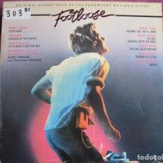 Discos de vinilo: LP - FOOTLOOSE - VARIOS (PROMOCIONAL ESPAÑOL, CBS 1984). Lote 236414345