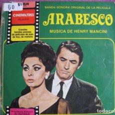 Discos de vinilo: LP - ARABESCO - MUSIC BY HENRY MANCINI (SPAIN, RCA 1981). Lote 236414680
