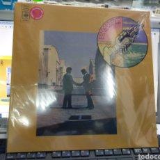 Discos de vinilo: PINK FLOYD LP WISH YOU WERE HERE ISRAEL NO OFICIAL VINILO ROJO PRECINTADO. Lote 236414700
