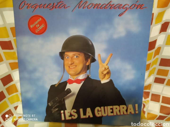 ORQUESTA MONDRAGON. ES LA GUERRA. LP VINILO PORTADA ABIERTA. PERFECTO ESTADO E INCLUYE CÓMIC (Música - Discos - LP Vinilo - Grupos Españoles de los 70 y 80)