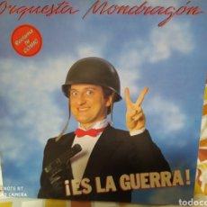 Discos de vinilo: ORQUESTA MONDRAGON. ES LA GUERRA. LP VINILO PORTADA ABIERTA. PERFECTO ESTADO E INCLUYE CÓMIC.. Lote 236414940