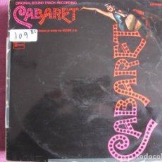 Discos de vinilo: LP - CABARET - LIZA MINNELLI (SPAIN, EMI STATESIDE 1972). Lote 236415480