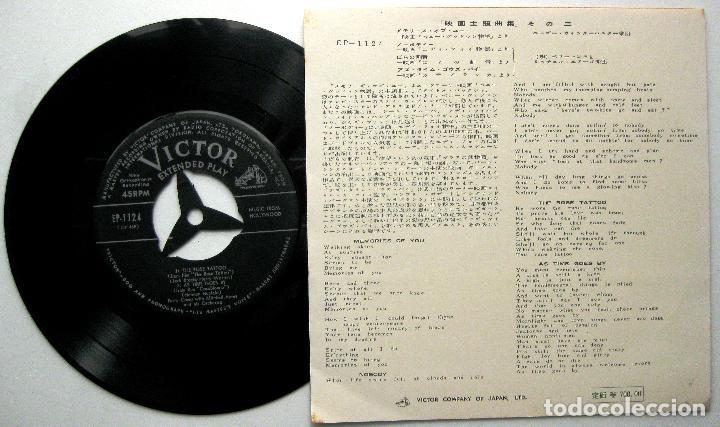 Discos de vinilo: Perry Como / Hugo Winterhalter - Music From Hollywood - EP Victor 1956 Japan BPY - Foto 2 - 236419685