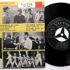 Discos de vinilo: PERRY COMO / HUGO WINTERHALTER - MUSIC FROM HOLLYWOOD - EP VICTOR 1956 JAPAN BPY. Lote 236419685