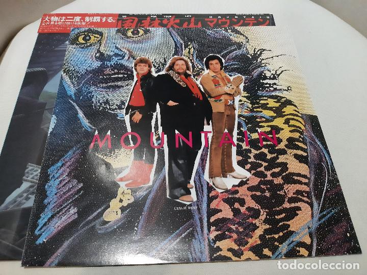 Discos de vinilo: MOUNTAIN -GO FOR YOUR LIFE- (1985) LP DISCO VINILO - Foto 7 - 236430890