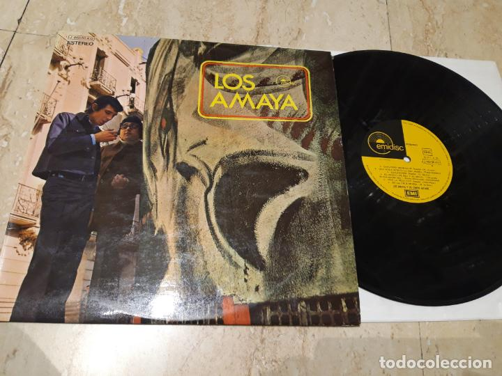 LOS AMAYA Y SU COMBO GITANO- GROOVY GIPSY ACID FUNK COMBO LP 1ST PRES 1971 EMIDISC (Música - Discos - LP Vinilo - Flamenco, Canción española y Cuplé)