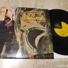 Discos de vinilo: LOS AMAYA Y SU COMBO GITANO- GROOVY GIPSY ACID FUNK COMBO LP 1ST PRES 1971 EMIDISC. Lote 236431810