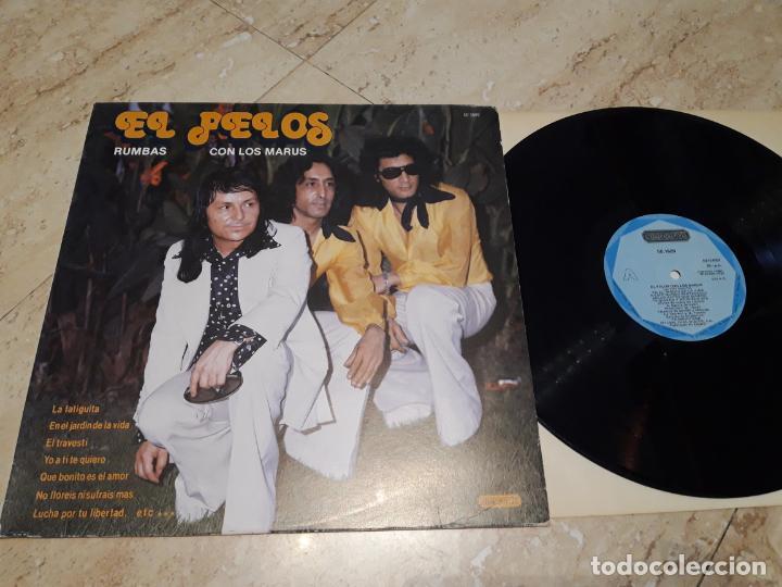 EL PELOS CON LOS MARUS-LP- ACID RUMBA- 1985- EXCELENTE (Música - Discos - LP Vinilo - Flamenco, Canción española y Cuplé)