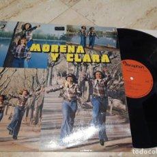 Discos de vinilo: MORENA Y CLARA-EDICION ORIGINAL-1976-ESTADO EXCELENTE-ACID-FUNK RUMBA-LP-. Lote 236434815