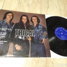 Discos de vinilo: TRIGAL LP-ORIGINAL 1976 BELTER-FUNK ACID RUMBA- EXCELENTE ESTADO. Lote 236435930