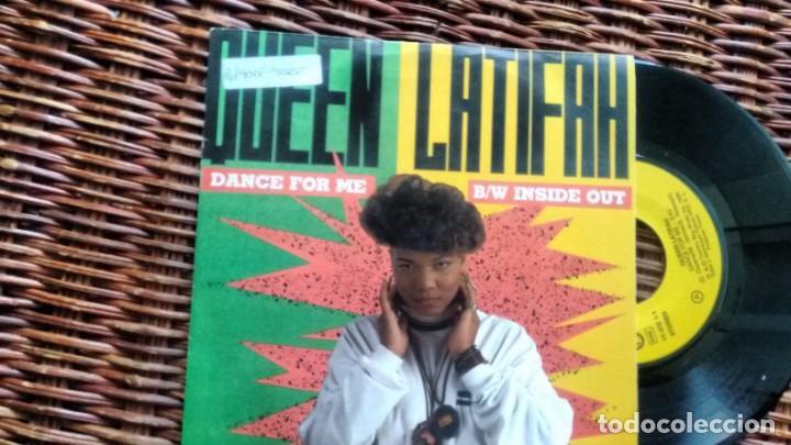 SINGLE (VINILO) DE QUEEN LATIFAH AÑOS 90 (Música - Discos - Singles Vinilo - Rap / Hip Hop)