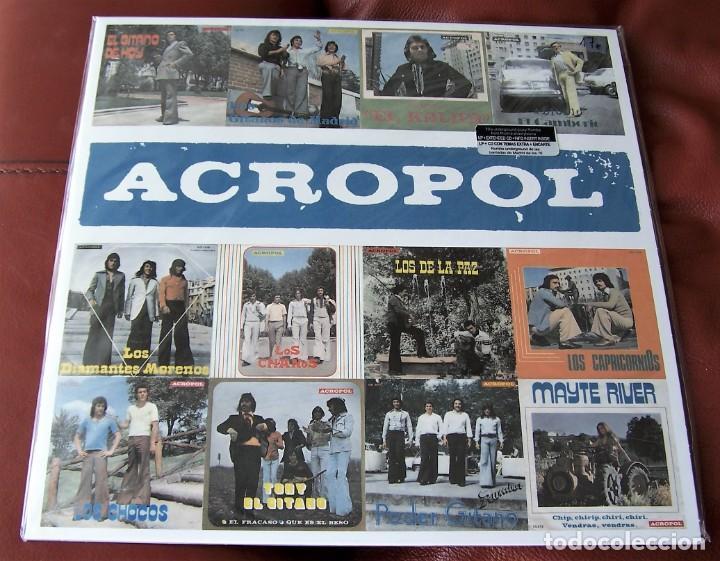 VARIOS - ACROPOL LP + CD RECOPILATORIO (Música - Discos - LP Vinilo - Flamenco, Canción española y Cuplé)