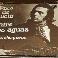 Discos de vinilo: SINGLE - PACO DE LUCIA - ENTRE DOS AGUAS. Lote 236439870