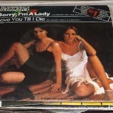 Discos de vinilo: SINGLE BACCARA -- SORRY I'M A LADY. Lote 236442600