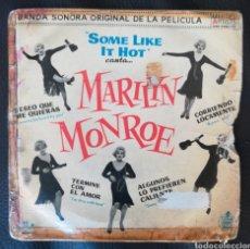 Discos de vinilo: MARILYN MONROE. Lote 236443010