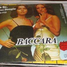 Discos de vinilo: SINGLE BACCARA -- CARA MIA. Lote 236443155