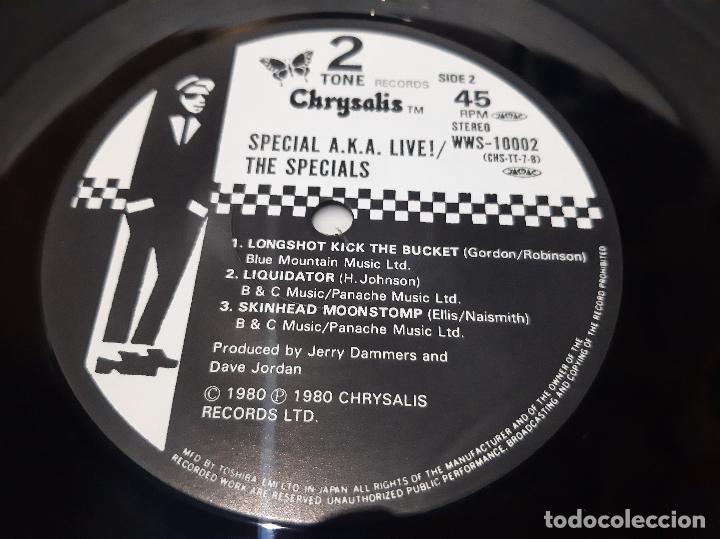 Discos de vinilo: THE SPECIALS A.K.A. FEATURING RICO -TOO MUCH TOO YOUNG- (1980) EP - Foto 3 - 236443955