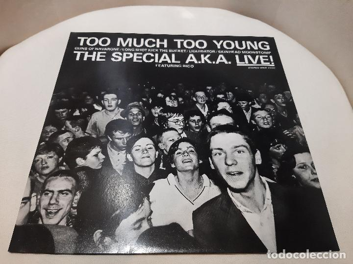 THE SPECIALS A.K.A. FEATURING RICO -TOO MUCH TOO YOUNG- (1980) EP (Música - Discos de Vinilo - EPs - Reggae - Ska	)