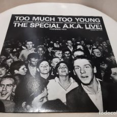 Discos de vinilo: THE SPECIALS A.K.A. FEATURING RICO -TOO MUCH TOO YOUNG- (1980) EP. Lote 236443955