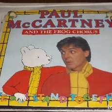 Discos de vinilo: SINGLE PAUL MCCARTNEY WE ALL STAND TOGETHER. Lote 236444030