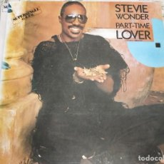 """Discos de vinilo: STEVIE WONDER - PART-TIME LOVER = AMANTE A MEDIAS (12"""", MAXI)MOTOWN SPTO-60225.VINILO BIEN,VG+++/VG+. Lote 236445675"""