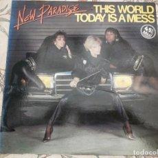 "Discos de vinilo: NEW PARADISE - THIS WORLD TODAY IS A MESS (12"", MAXI) VICTORIA VIC-163,COMO NUEVO. MINT/ NEAR MINT. Lote 236447505"