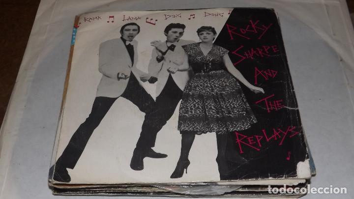 SINGLE - ROCKY SHARPE AND THE REPLAYS (Música - Discos - Singles Vinilo - Pop - Rock - Extranjero de los 70)