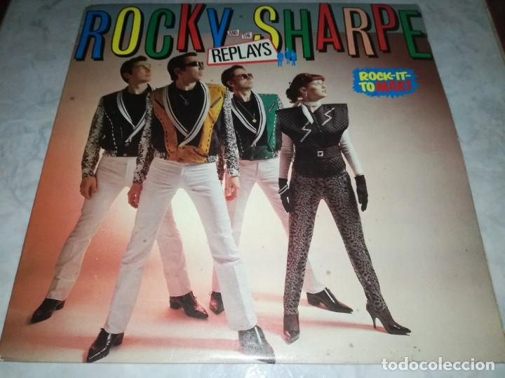 ROCKY SHARPE AND THE REPLAYS-ROCK IT TO MARS-ORIGINAL ESPAÑOL-CONTIENE ENCARTE (Música - Discos - LP Vinilo - Pop - Rock - New Wave Extranjero de los 80)