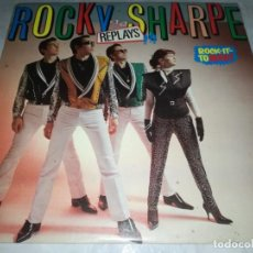 Discos de vinilo: ROCKY SHARPE AND THE REPLAYS-ROCK IT TO MARS-ORIGINAL ESPAÑOL-CONTIENE ENCARTE. Lote 236450745