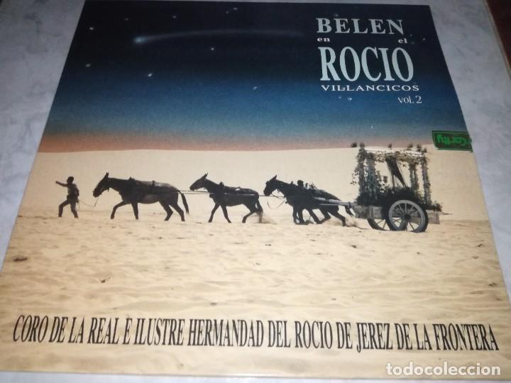 CORO HERMANDAD ROCIO JEREZ DE LA FRONTERA-BELEN EN EL ROCIO VILLANCICOS VOL 2 (Música - Discos - LP Vinilo - Flamenco, Canción española y Cuplé)