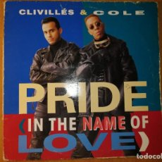 Discos de vinilo: LOTE 2 DISCOS TECHNO. CLIVILLÉS&COLE- RUB IT IN. Lote 236451565