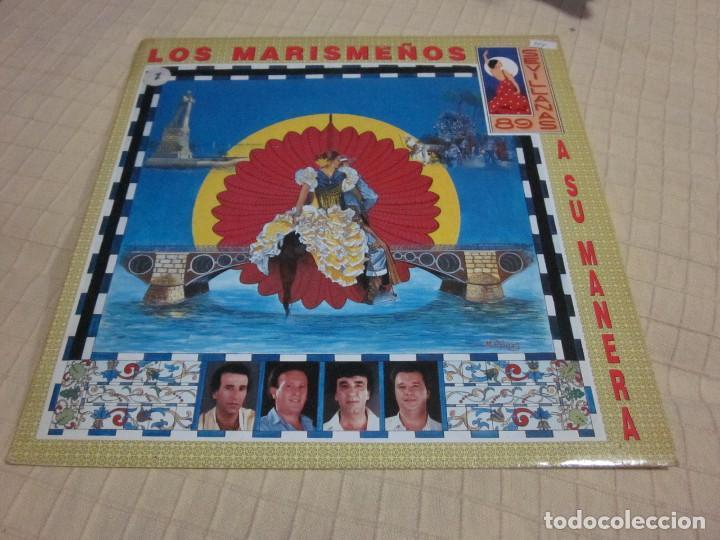 LOS MARISMEÑOS - A SU MANERA (SEVILLANAS 89) (LP, ALBUM) (Música - Discos - LP Vinilo - Flamenco, Canción española y Cuplé)