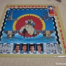 Discos de vinilo: LOS MARISMEÑOS - A SU MANERA (SEVILLANAS 89) (LP, ALBUM). Lote 236458445