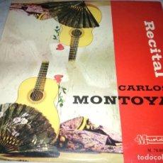 Discos de vinilo: CARLOS MONTOYA-RECITAL-ORIGINAL 1966. Lote 236460315