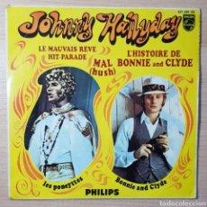 """Discos de vinilo: JOHNNY HALLADAY HUSH 7"""" E.P.. Lote 236463045"""