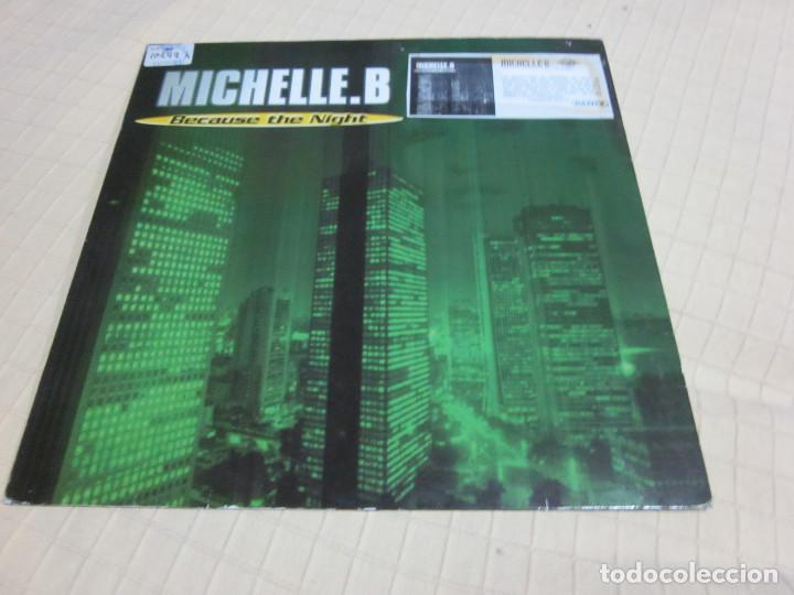 "MICHELLE. B - BECAUSE THE NIGHT (12"") (Música - Discos de Vinilo - Maxi Singles - Techno, Trance y House)"