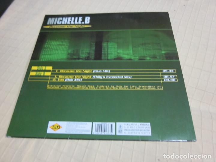 "Discos de vinilo: Michelle. B - Because The Night (12"") - Foto 2 - 236464000"