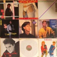 Discos de vinilo: LOTE 9 MAXIS ITALO DISCO, RYAN PARIS, GARY LOW, P LION, PINO DANGIO. Lote 236469545