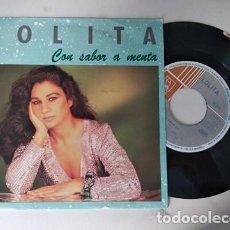 Discos de vinilo: LOLITA CON SABOR A MENTA/A KEVIN SINGLE 1992 HORUS. Lote 236471215