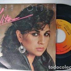 Discos de vinilo: LOLITA PARA VOLVER / LA AVENTURA 1985 CBS. Lote 236471225