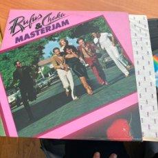 Discos de vinilo: RUFUS & CHAKA (MASTERJAM) LP GAT. USA (B-19). Lote 236472295