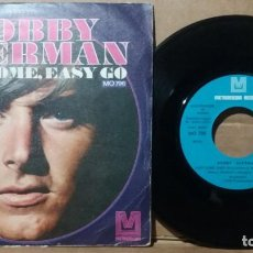 Discos de vinilo: BOBBY SHERMAN / EASY COME, EASY GO / SINGLE 7 INCH. Lote 236484045