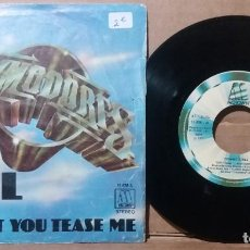 Discos de vinilo: COMMODORES / FACIL / SINGLE 7 INCH. Lote 236485420
